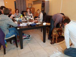 Praktische Übung in der Gruppe