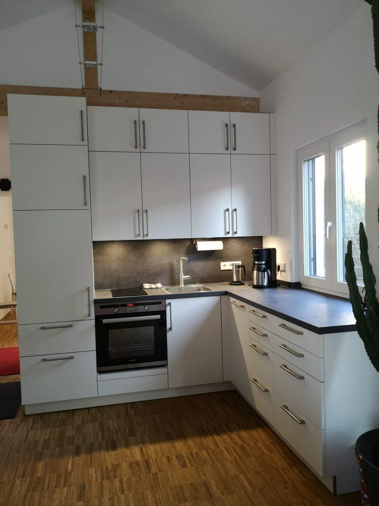 Küche im Ferienhaus an der Bergstraße